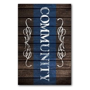 Rustic Charm Community Wall Art