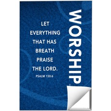 Flourish Worship Blue