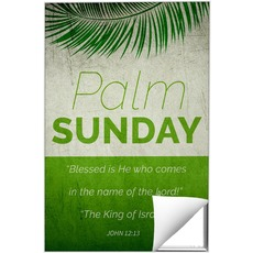Color Block Palm Sunday Wall Art