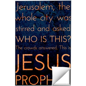 Holy Words Palm Sunday Wall Art