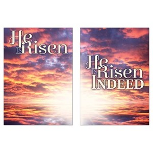 Risen Indeed Pair Wall Art