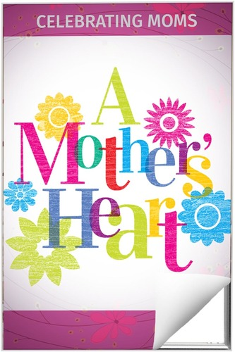 Wall Art, Mother's Day, A Mothers Heart, 24 x 36