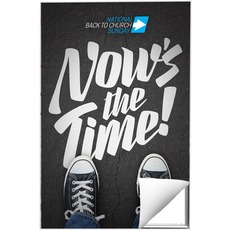 Back to Church Sunday: Nows the Time Wall Art