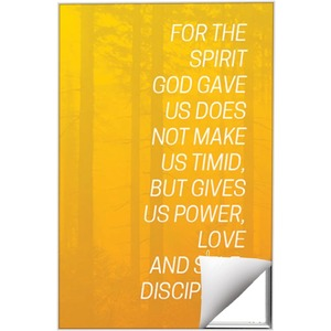 Color Wash 2 Tim 1:7 Wall Art