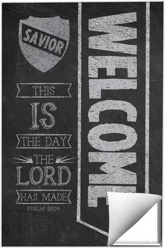 Chalkboard Art Welcome Quick Change Art Church Wall Art