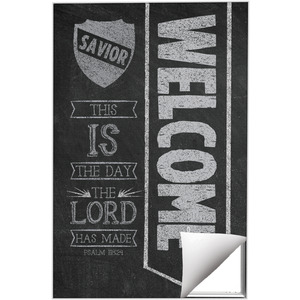 Chalkboard Art Welcome Wall Art