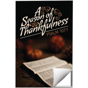 Season of Thankfulness Wall Art