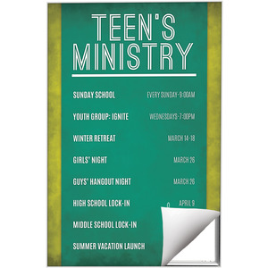 Teens Events Wall Art