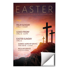 Easter Crosses Hilltop Wall Art