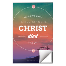 Christ Died For Us Wall Art