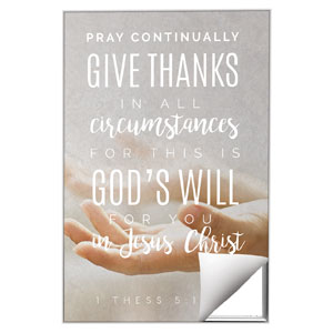 Photo Scriptures 1 Thes 5:17 Wall Art