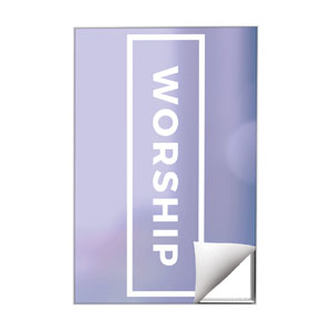 Shimmer Worship Wall Art