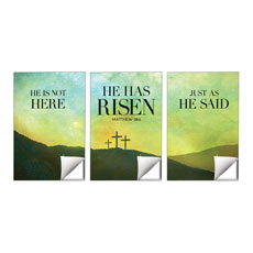 He Has Risen Matt 28:6 Wall Art