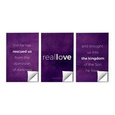 Real Love Crown Triptych