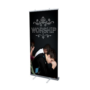 Chalk Worship People Banners