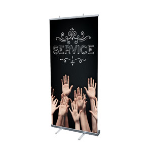 Chalk Service Banners