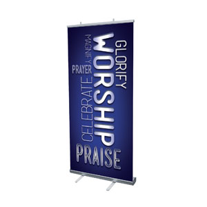 Words Worship Cloud Banners
