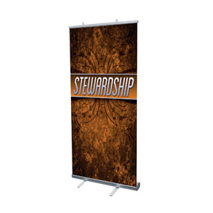 "You Belong Stewardship 4' x 6'7"" Vinyl Banner"