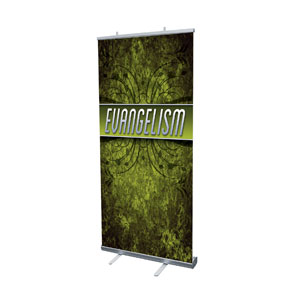 "You Belong Evangelism 4' x 6'7"" Vinyl Banner"