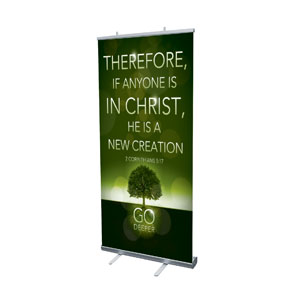 Deeper Roots 2 Cor 5:17 Banners