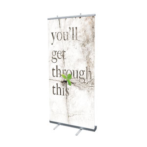 "Get Through This 4' x 6'7"" Vinyl Banner"