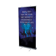 Celebrate The King Matt 2:10 Banner