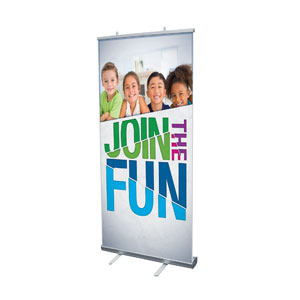 "VBS Green Blue Red 4' x 6'7"" Vinyl Banner"