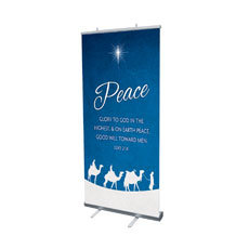 Advent Peace Banner