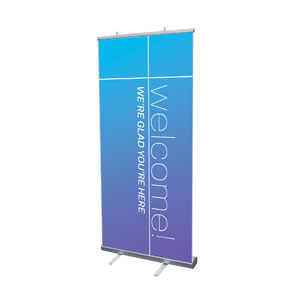 "Color Wash Welcome 4' x 6'7"" Vinyl Banner"