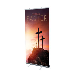 Easter Crosses Hilltop Banners