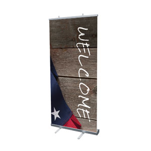 American Flag Invited Banners