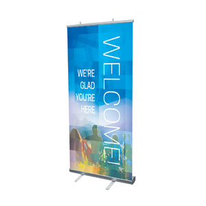 Modern Mosaic Welcome Banners