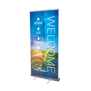 Modern Mosaic Directional Banners