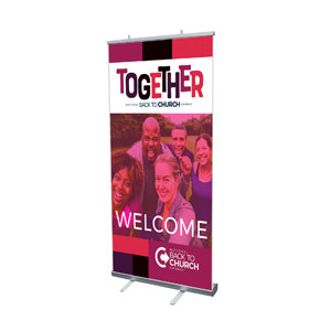 "BTCS Together 4' x 6'7"" Vinyl Banner"