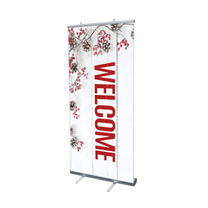 "Celebrate Christmas Berries Welcome 4' x 6'7"" Vinyl Banner"
