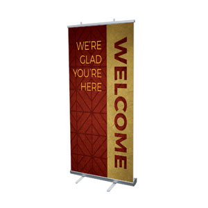 "Celebrate The Season Advent Welcome 4' x 6'7"" Vinyl Banner"