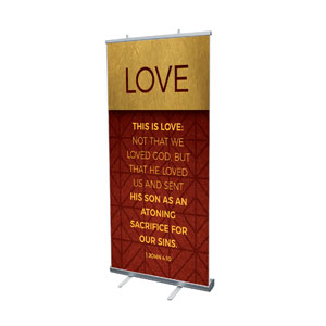 "Celebrate The Season Advent Scripture 4' x 6'7"" Vinyl Banner"