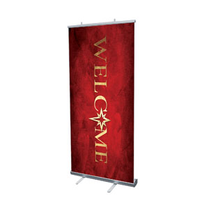"Hope Is Born Star Welcome 4' x 6'7"" Vinyl Banner"