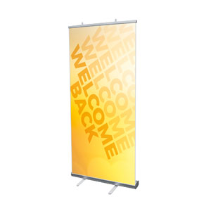 "Welcome Back Yellow 4' x 6'7"" Vinyl Banner"