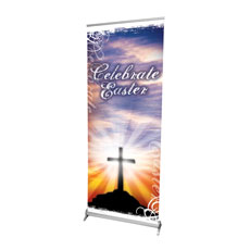 Sunrise Cross Banner