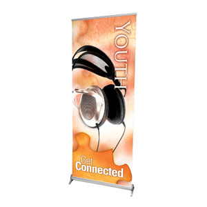 "Get Connected Youth 2'7"" x 6'7""  Vinyl Banner"
