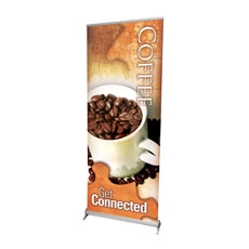 Get Connected - Coffee Banner