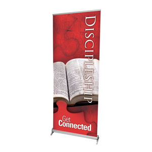 Get Connected Discipleship Banners