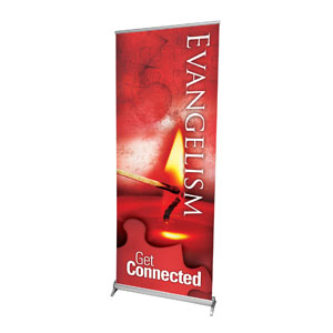 Get Connected Evangelism Banners