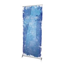 Vintage Blue Banner