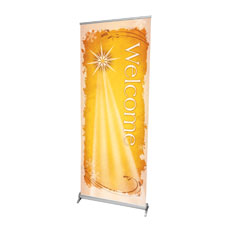 Christmas Star Gold Banner
