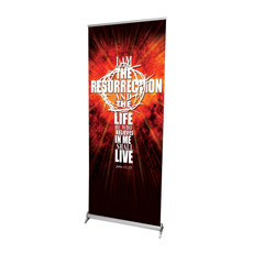 I am the Resurrection Banner