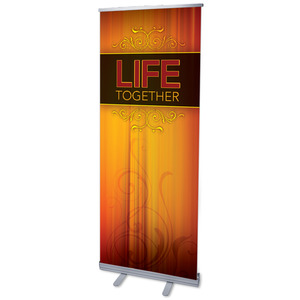 "Together Life 2'7"" x 6'7""  Vinyl Banner"