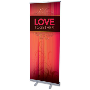 "Together Love 2'7"" x 6'7""  Vinyl Banner"
