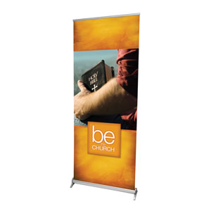 "Be the Church 2'7"" x 6'7""  Vinyl Banner"